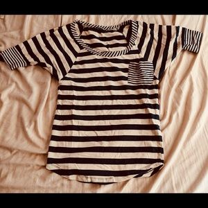 Tops - Striped short sleeve